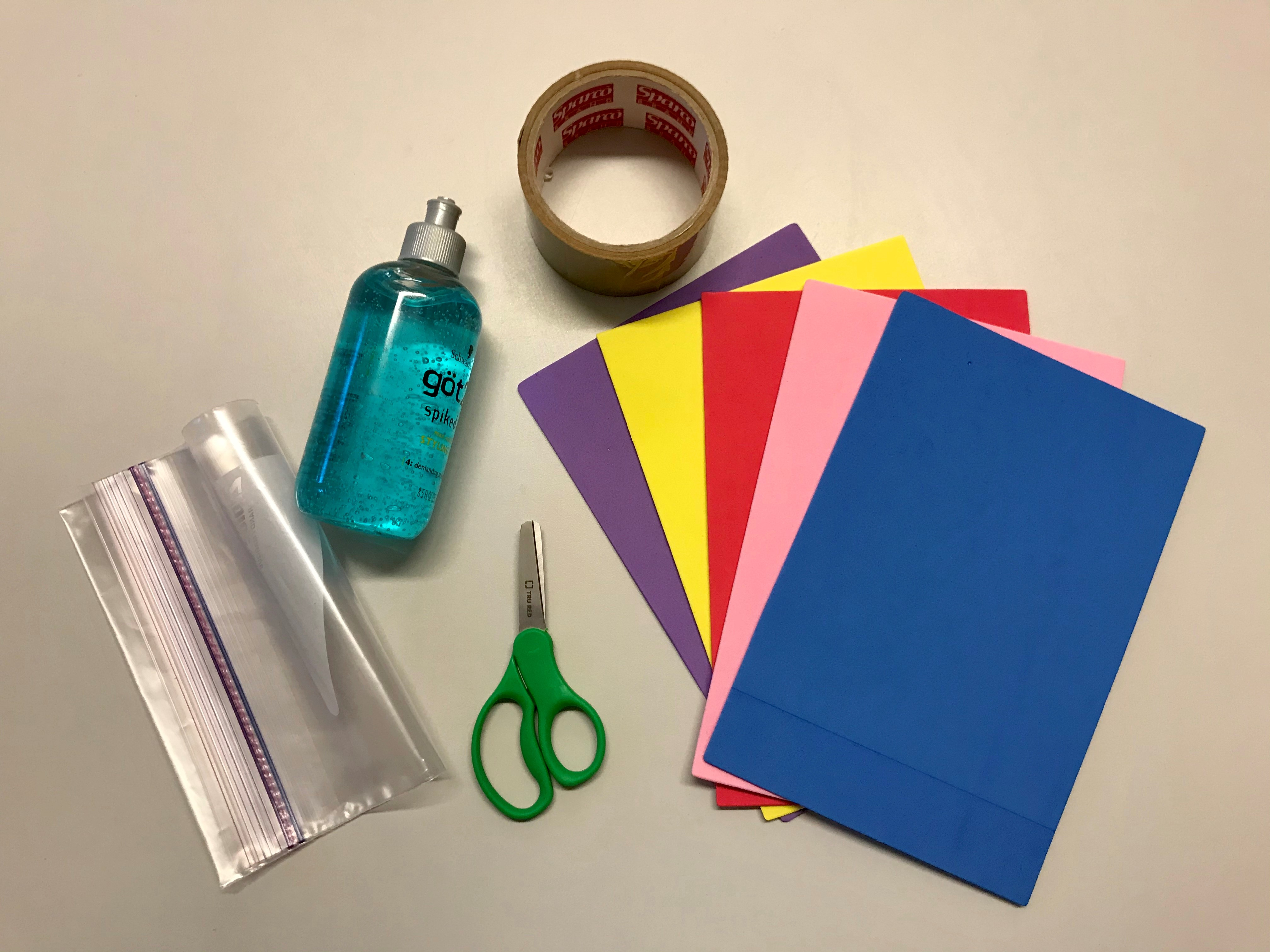 Sensory bag supplies