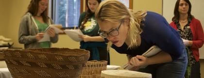 Basketry academic tour