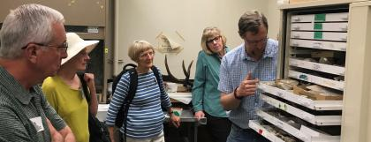 Tour of Condon Fossil Collection