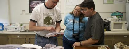 Paleo collections tour